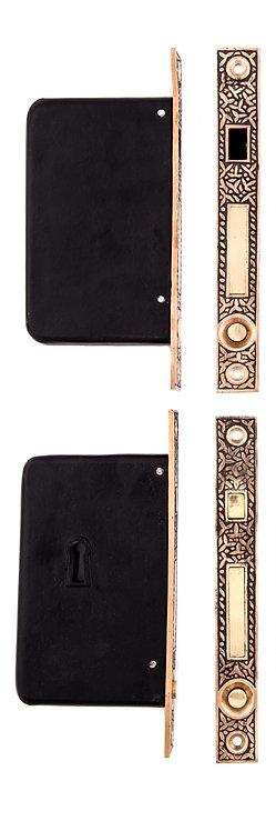 Rice Double Pocket Door Lock #1450B.USXX