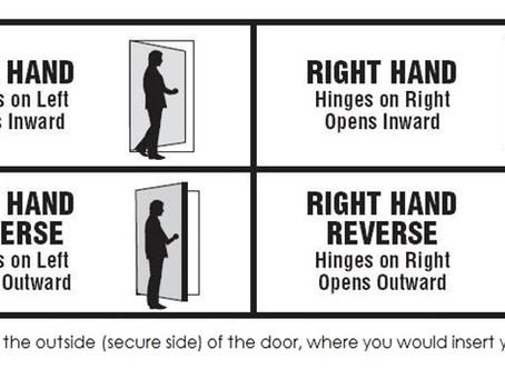 Door Hardware 101: What handed door do you have?