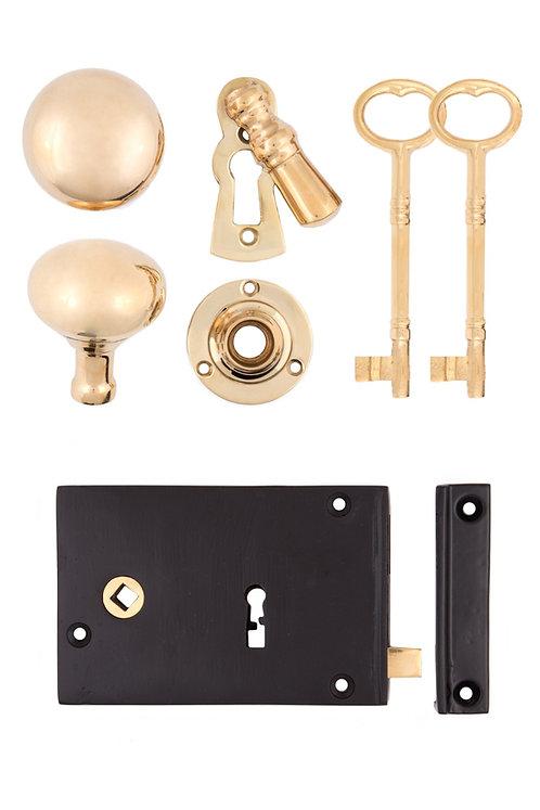 Iron Rim Lock Set #200X.US693