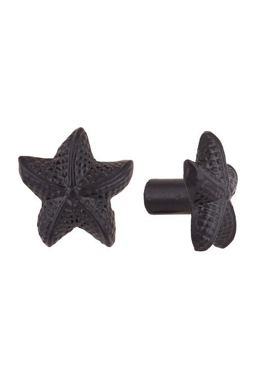 Iron Starfish Cupboard Knob #4651.US693