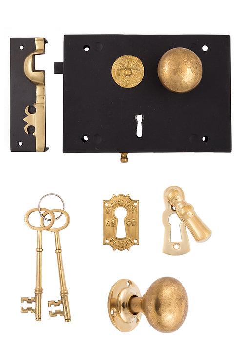 Carpenter Rim Lock Set #201X.US693