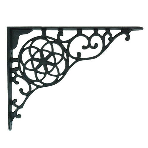 Circle and Star Shelf Bracket pair