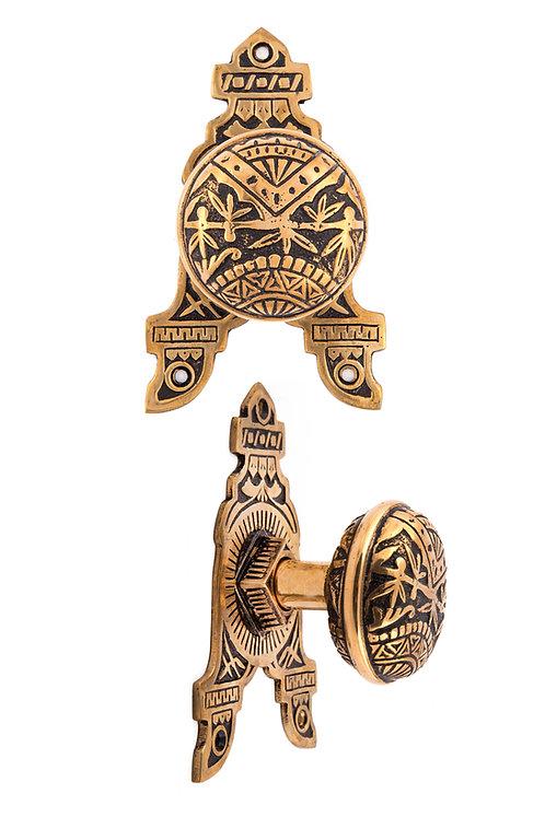 Oriental Round Knob & 3