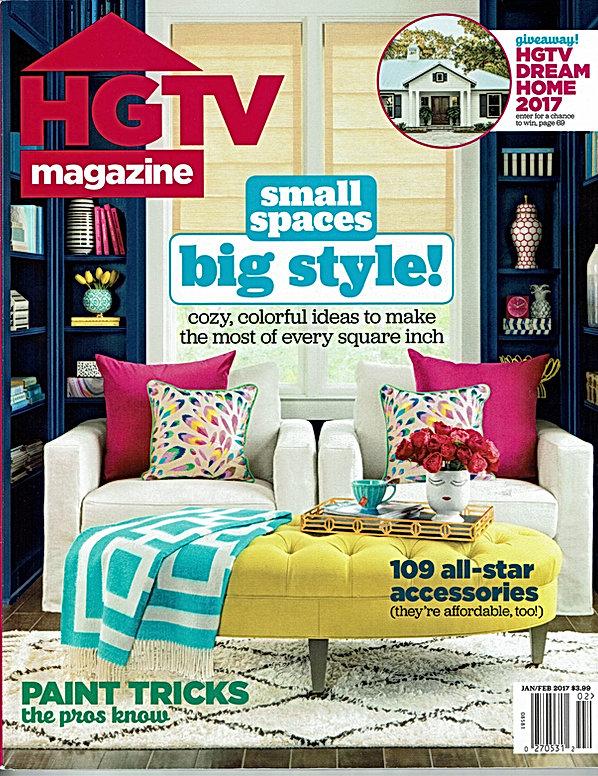Charleston Hardware in HGTV Magazine