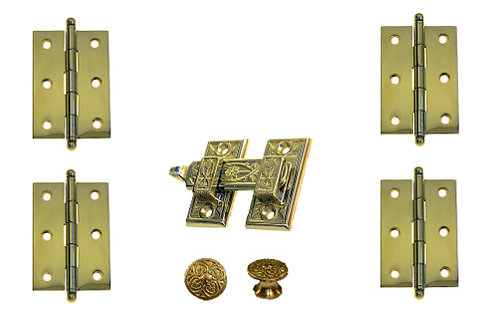 Decorative plantation hardware set #3925.US3A