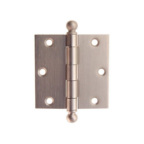 "3 1/2 x 3 1/2"" plated hinges 8781.USXX"