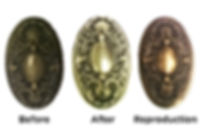 Charleston Hardware Restoration and Reproduction Neoclassical Doorknobs