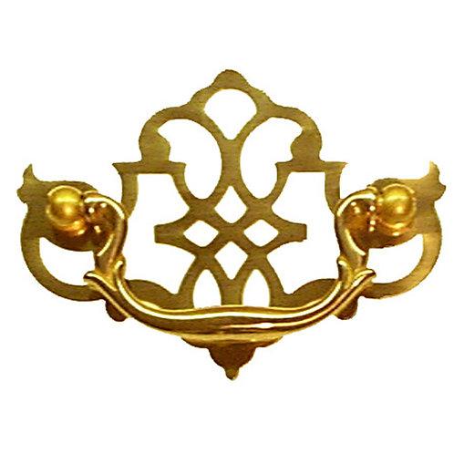 Philadelphia Chippendale Brass