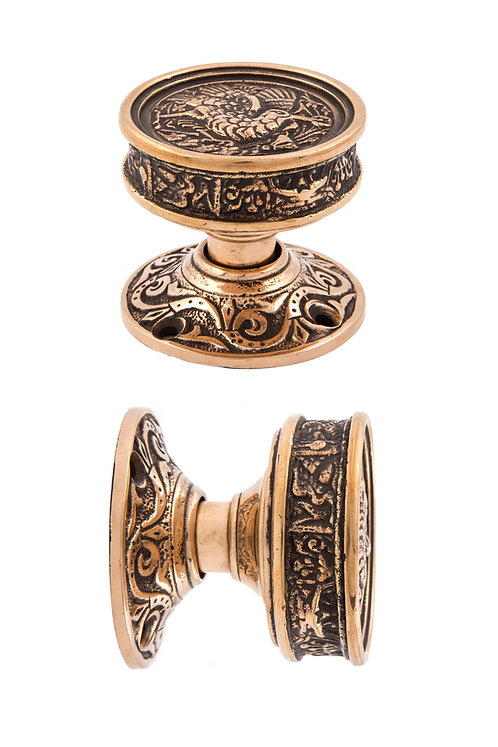 Hummingbird Doorknob & Rosettes Sets #512X.USXXX