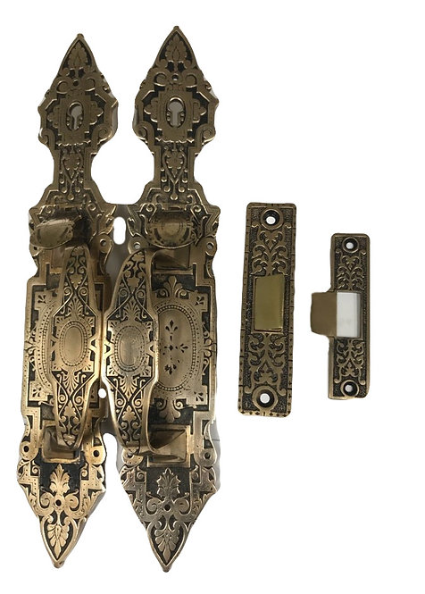 Store Front Entry Thumb Latch Set