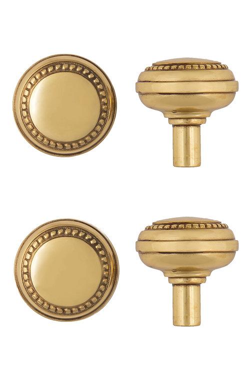 Round Beaded Doorknobs 0201.XXX