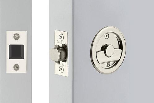 Round Tubular Pocket Door Lock