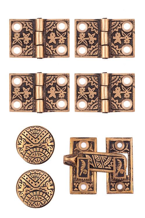 Oriental Plantation Shutter Set #1389.USXXX