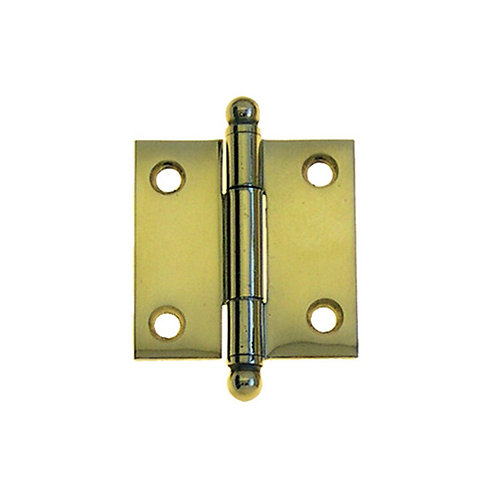 """1 1/2"""" Solid Brass Hinges"""