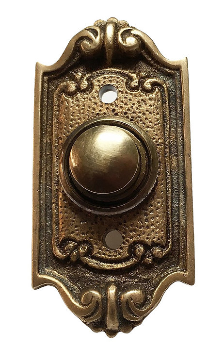 Neoclassical French Shell Doorbell Button #1816.