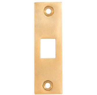 Plain Pocket Door Strike Plate #2103.USXXX
