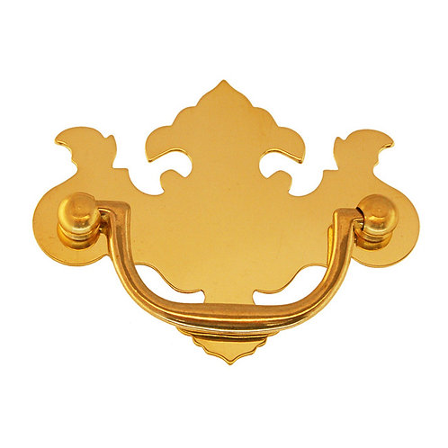 Boston Chippendale Brass Drawer Pull