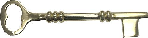 Reproduction brass bit key