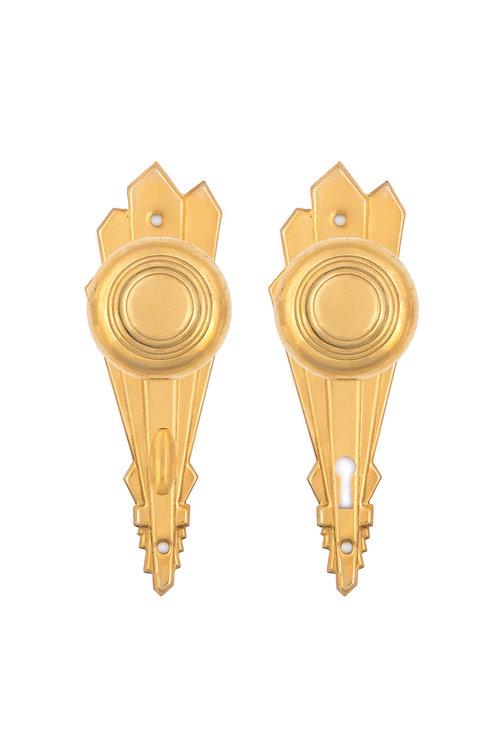 1929 Back Plate & Doorknob Sets #070X.USX
