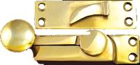 Sash lock with round knob