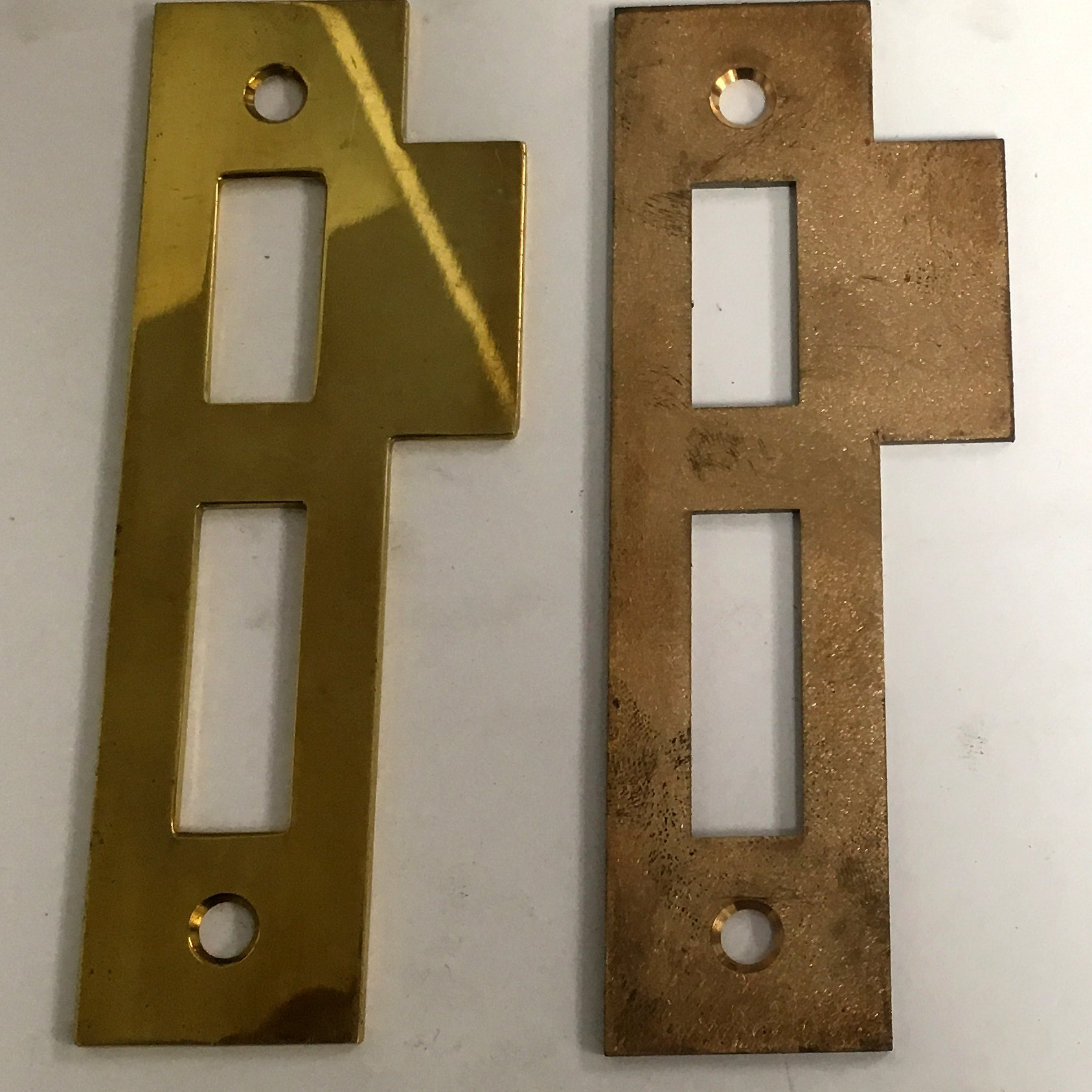 Entry Door Mortise Lock Strike Plate 3215xx