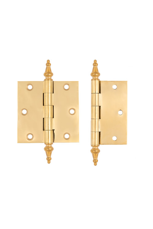 "3 1/2"" removable pin Steeple Tip Hinges #37XX.USXX"