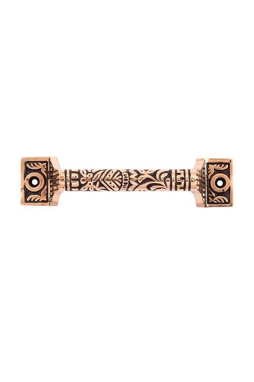 Oriental bronze handle