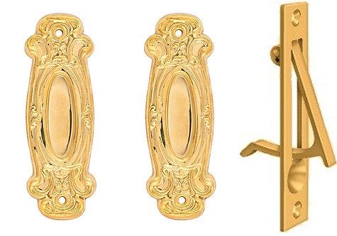 Avalon Small Pocket Door Set #0100.USXX