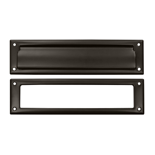 Plain Solid Brass Mail Slot