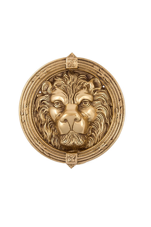 Lion Head Door Knocker #3401.US3A
