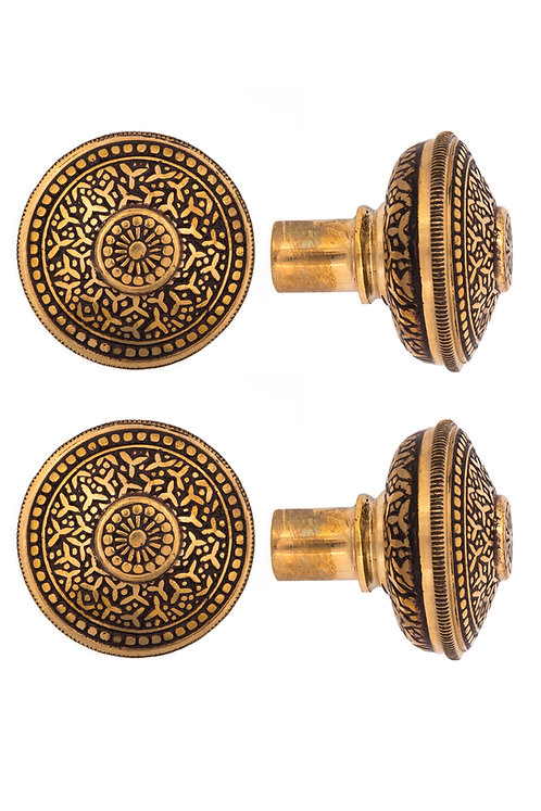 Rice Parasol Doorknobs #1403.USXXX