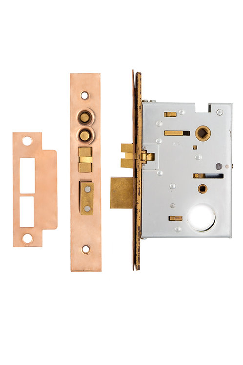 "2.5"" Baldwin Mortise Lock with buttons #28XX.USXX"