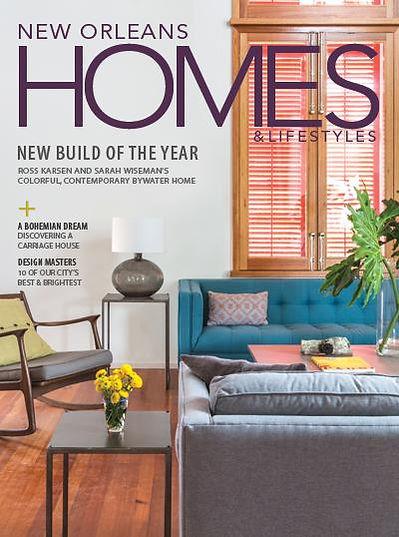 Charleston Hardware Co. in New Orleans Home Magazine