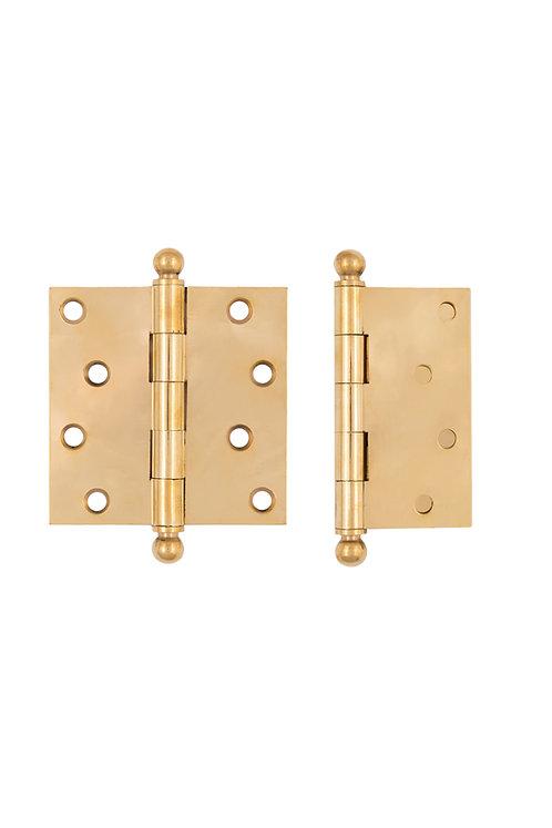 """4 x 4"""" solid brass Hinge #3703.USXX"""