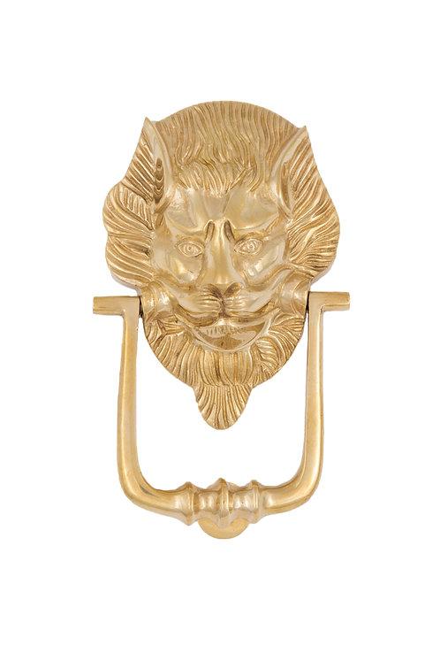 Medium Lion Head Door Knocker