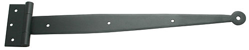 "40lb rating  13 3/8"" strap/mortise hinge with circle tip"