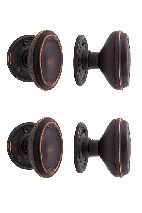 Bungalow Doorknob & Rosette Sets #040X.USXX