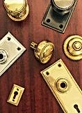 Charleston Hardware Rope Pattern Brass Hardware