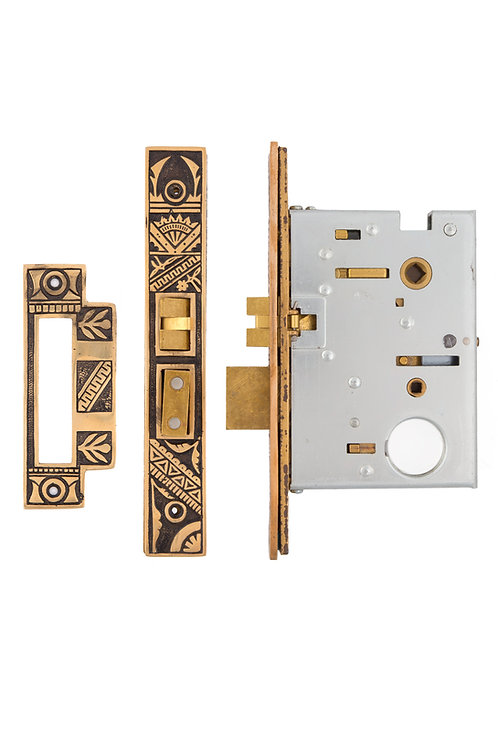 "2 1/2"" Oriental Baldwin Mortise Lock #13XX.USXX"