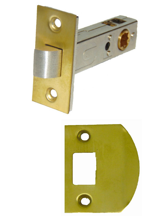 "Heavy Duty Passage Latch 2 3/8 and 2 3/4"" backset #28XX.USXX"