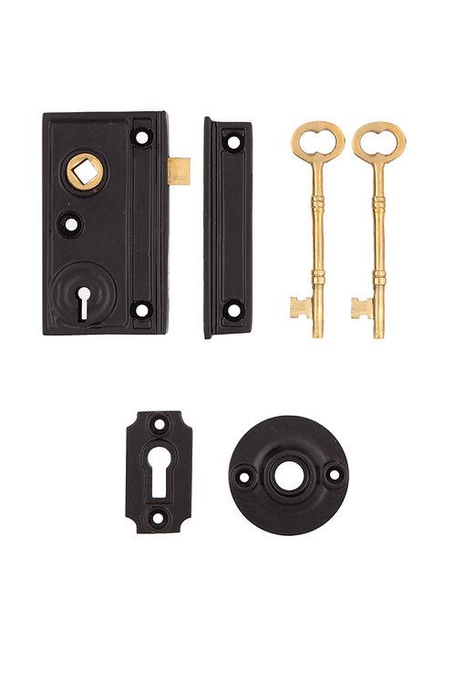Narrow Rim Lock Set #2011.US693
