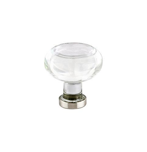 Round Crystal Cabinet Knob