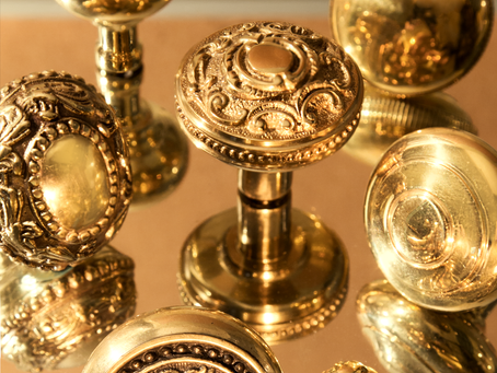 The Beauty of Unlacquered Brass
