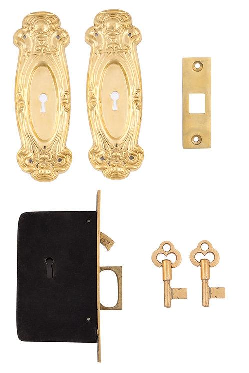 Avalon Keyed Pocket Door Sets #011X.USXXX