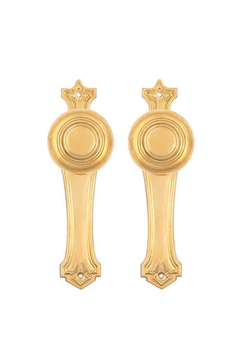 Zelda Back Plate & Doorknob Sets #07XX.USXXX