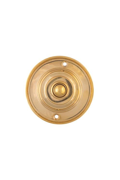 Classic Round Brass Doorbell Button #3315.USXXX
