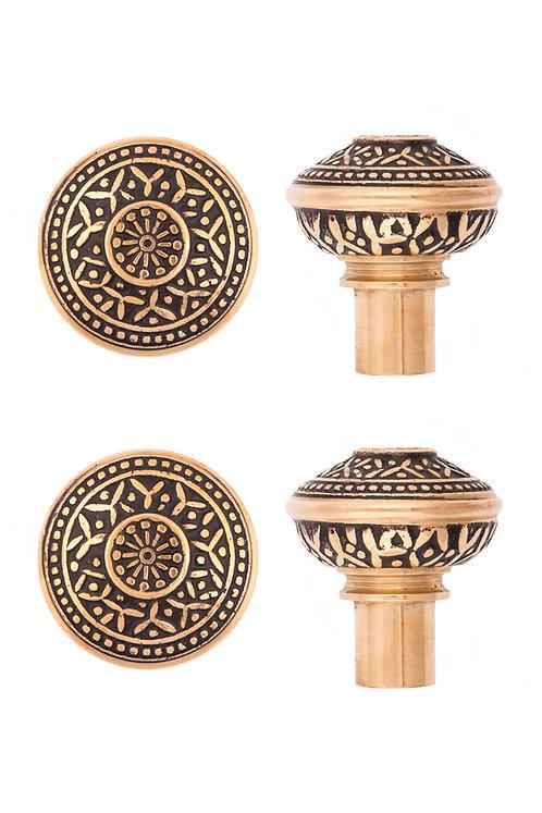 Rice Undersized Doorknobs #1404.USXXX