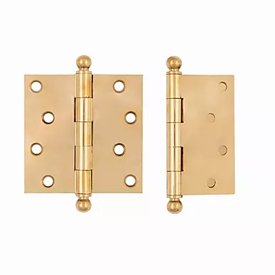 """4 x 4"""" plated hinges 8782.USXX"""
