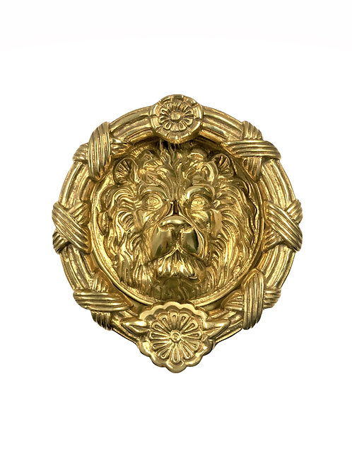 Medium Round Lion Doorknocker