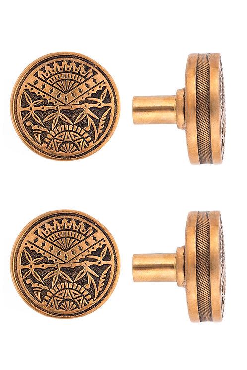 Oriental Drum Doorknobs #1302.USXXX